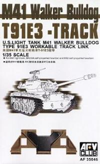 M41 Walker Bulldog T91E3 Track (Workable)