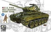 U.S. WWII M24 Chaffee Light Tank
