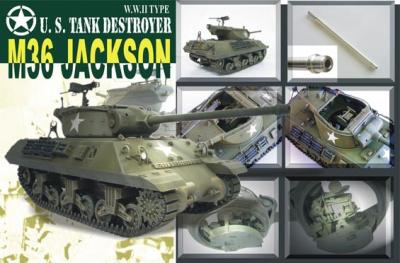 WWII US Tank Destroyer M-36 Jackson