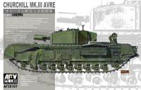 1:35 AFV Club Churchill MK.II AVRE