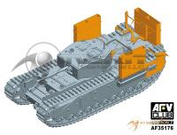 1/35 Churchill MK.III Dieppe Including Workable Track