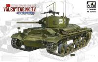 Valentine Mk.IV Tank Soviet Red Army Version