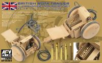 WWII British Rota Trailer w/ 2 Pounder Ammunition Set