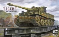 1:35 AFV Club Tiger I Late (Transport Mode)