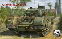 1:35 AFV Club British Infantry Tank Churchill Mk.VI/75mm Gun