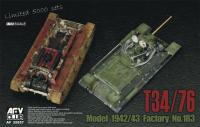 1:35 Russian T-34/76 Tank Model 1942/43 Factory No.183