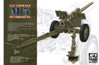 1:35 US 3 Inch Gun M5 on Carriage M1