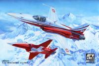 1:48 F-5E Swiss/Austria Air Force