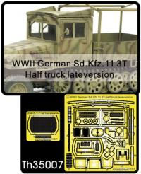 1:35 Sd.Kfz.11 3T Half Truck Late Version Etching Parts for Grille