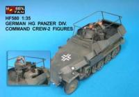 1:35  German HG Panzer Div. Command Crew -2 Figures