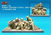 1/35 STREET FIGHTING USMC 1968 HUE-6FIGS