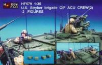 1/35 US STRYKER BRIGADE (1) OIF ACU INF. - 2 FIGURES