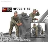 1/35 BUSSING NAG 4500A 3T CRANE REPAIR CREW (2 FIG)