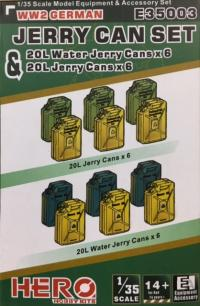 1/35 Jerry Cans and Water Can Set