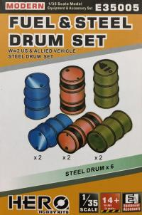 1/35 Fuel and Steel Drum Set