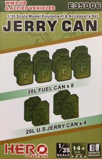 1/35 US Jerry cans and Allied Vehicles