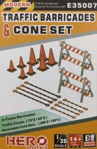 1/35 Traffic Barricades and Cones