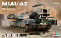 1/35 M1A1 Abrams w/Full Interior 2 in 1 kit