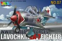 WWII Soviet Air Forces Lavochkin LA-7 Fighter (Egg plane model kit).